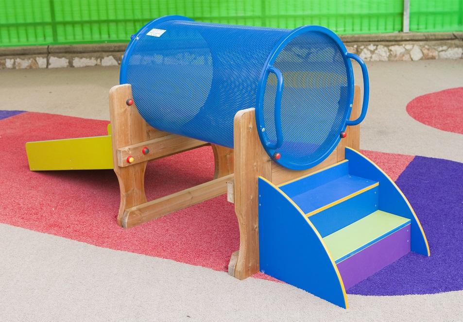 מרענן משטח גומי לחצרות מתקני חצר - ניר גלים - ציוד לגני ילדים XH-81